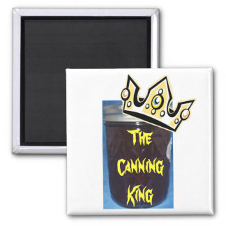 The Canning King Fridge Magnets