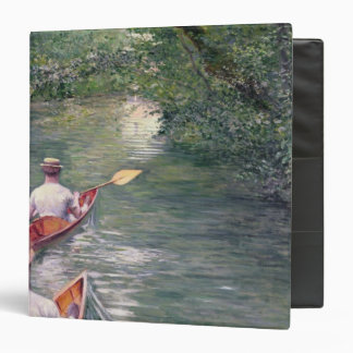 The Canoes, 1878 3 Ring Binder