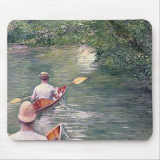 The Canoes, 1878 Mouse Pad