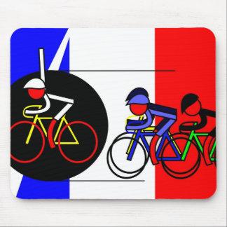 The Canon Ball Win - Tour de France Mouse Pad