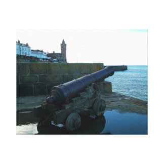 The Canon Porthleven Cornwall England Canvas Print