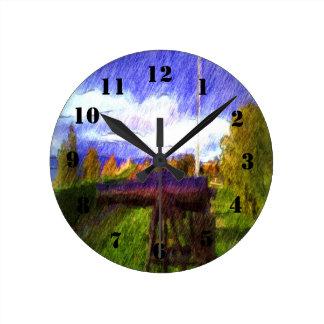 The Canon Round Clock