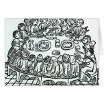 The Canterbury Pilgrims Greeting Card