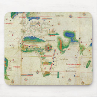 The Cantino Planisphere World Map 1502 Mouse Pad