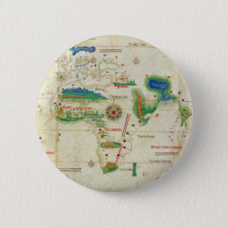 The Cantino Planisphere World Map (1502) Pinback Button
