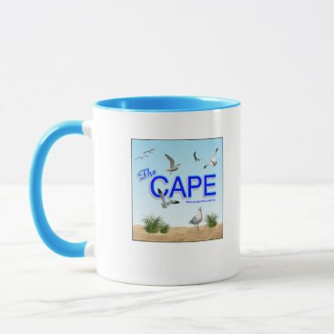 Beach Themed The Cape  (Cape Cod -Massachusetts) Mug
