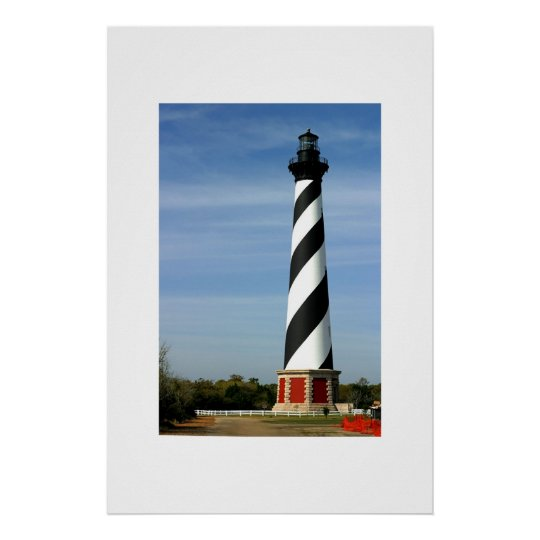 The Cape Hatteras Lighthouse Poster