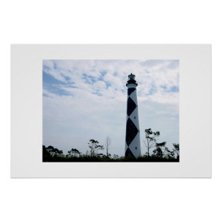 The Cape Lookout Lighthouse Print