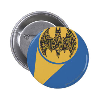 The Caped Crusader 2 Inch Round Button