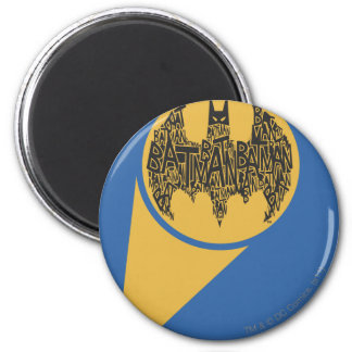 The Caped Crusader 2 Inch Round Magnet