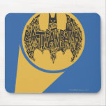 The Caped Crusader Mouse Pad