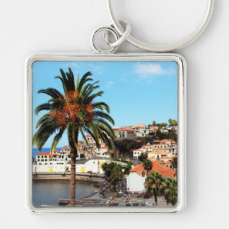 The Capital City of Funchal in Madeira Keychain
