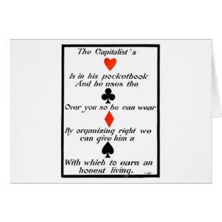 The Capitalist Card