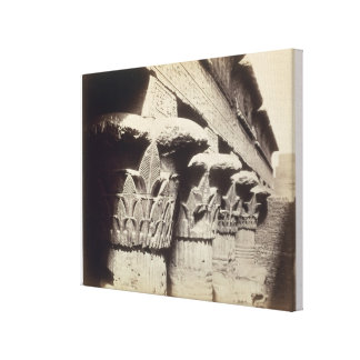 The Capitals of the Portico, Temple of Khnum, Esna Stretched Canvas Prints