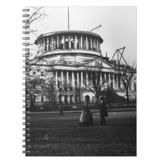 The Capitol Building in Washington D.C. Note Books