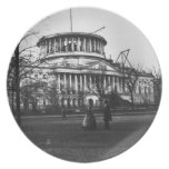 The Capitol Building in Washington D.C. Party Plates