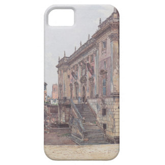 The Capitol in Rome by Rudolf von Alt iPhone 5 Cases