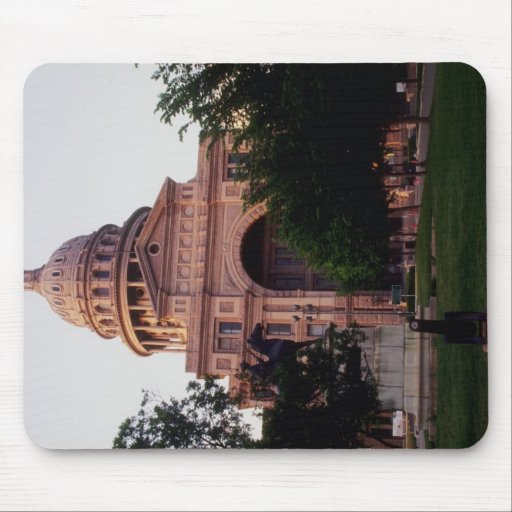 The capitol, Texas, U.S.A. Mouse Pad