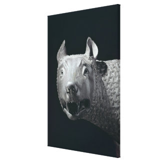 The Capitoline She-Wolf Stretched Canvas Prints
