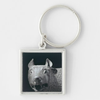 The Capitoline She-Wolf Keychain