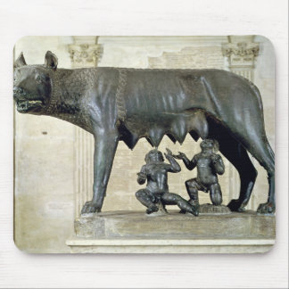 The Capitoline She-Wolf Mouse Pad