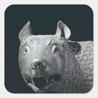 The Capitoline She-Wolf Square Sticker