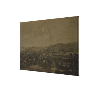 The Capitulation of Ulm in October 1805 Canvas Print