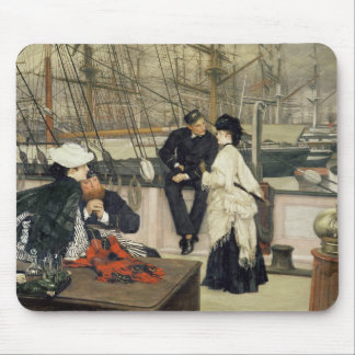 The Captain and the Mate, 1873 Mouse Pad
