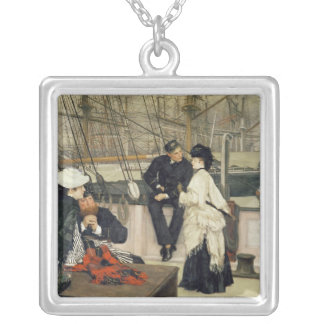 The Captain and the Mate, 1873 Silver Plated Necklace