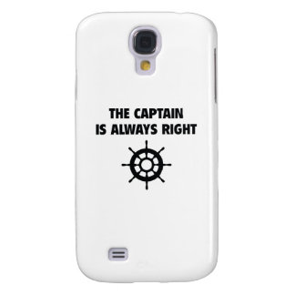 The Captain Is Always Right Samsung Galaxy S4 Cover
