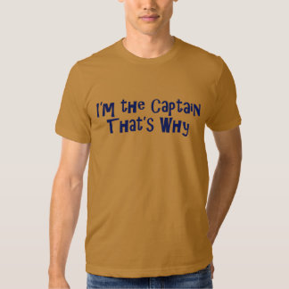 The Captain Rules T Shirt
