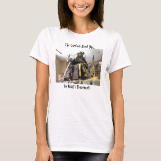 """""""The Captain Sent Me.. to Walt's Basement"""" T Shirt"""