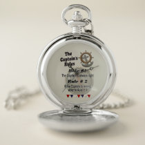 The Captain's Rules -- Pocket Watch