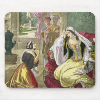 The Captive Hebrew Maid that Waited on Naaman's Wi Mouse Pad