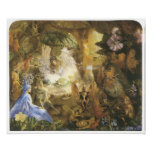 The Captive Robin, Vintage Fairy Painting Posters