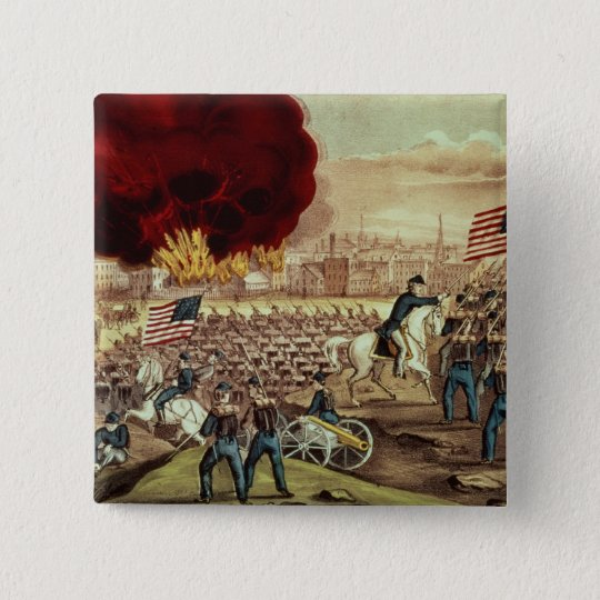 The Capture of Atlanta by the Union Army Pinback Button