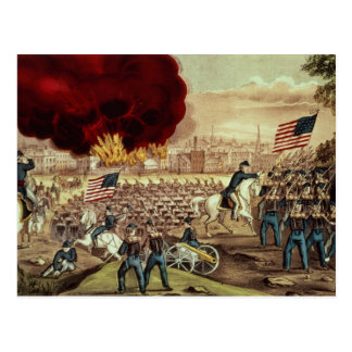 The Capture of Atlanta by the Union Army Postcard