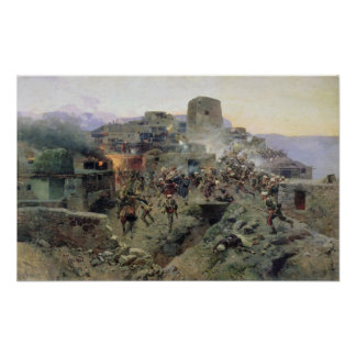 The Capture of Aul Gimry Print