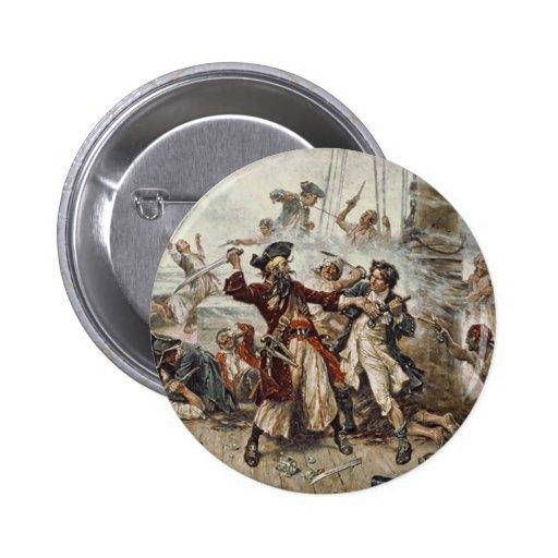 The Capture of Blackbeard Pin