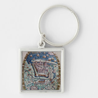 The Capture of Calais by the French in 1558 Key Chain