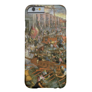The Capture of Constantinople in 1204 (oil on canv Barely There iPhone 6 Case