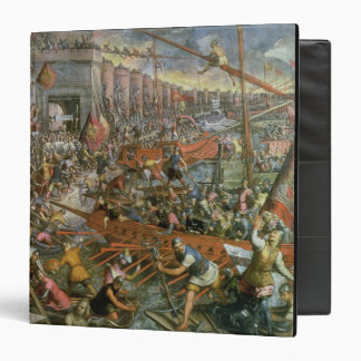 The Capture of Constantinople in 1204 (oil on canv Binder