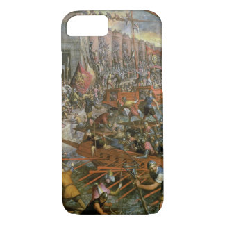 The Capture of Constantinople in 1204 (oil on canv iPhone 7 Case