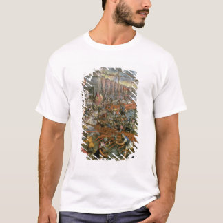 The Capture of Constantinople in 1204 (oil on canv T-Shirt