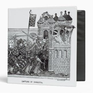 The Capture of Damietta in 1249 Binder
