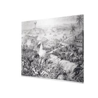 The Capture of El Caney, El Paso Canvas Print