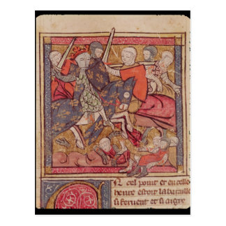 The Capture of Ferdinand of Portugal  Count Postcard