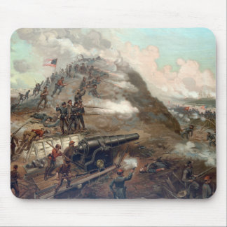The Capture Of Fort Fisher -- Civil War Mousepads