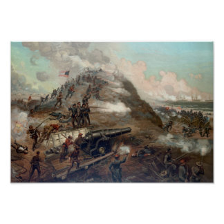 The Capture Of Fort Fisher Poster