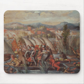 The Capture of Guatemoc Mouse Pad